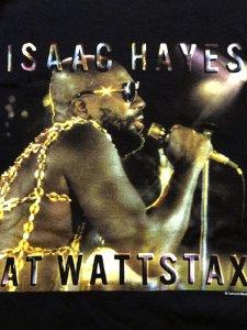 """ISAAC HAYES """"AT WATTSTAX"""" T-Shirt"""