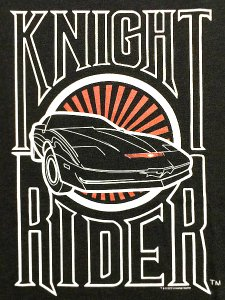KNIGHT RIDER LOGO T-Shirt