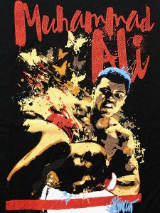 "Muhammad Ali ""Paint Picture"" T-Shirt"
