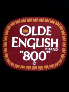 "Distressed Olde English ""8 Ball"" T-Shirt"