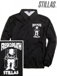 "Stillas ""FRESH 2 DEATH"" Coach Jacket"