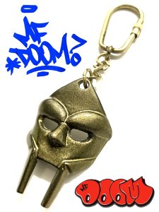 MF Doom Mask Key Chain