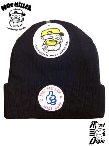 "Mac Miller ""Most Dope""  W Beanie"