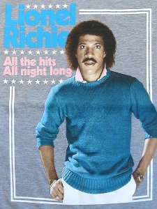 "Lionel Richie ""All The Hits All Night Long"" T-Shirt"