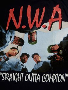 N.W.A STRAIGHT OUTTA COMPTON Tee