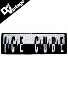Ice Cube Predetor Logo Patch