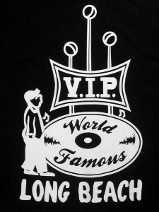World Famous VIP Records Long Beach T-Shirt