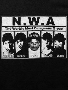 The Most Dangerous Group N.W.A. T-Shirt