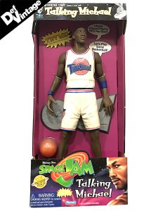 "1996 ""Michael Jordan"" Space Jam Talking Doll"
