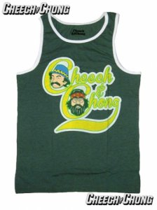 "Cheech and Chong ""Up In Smoke"" Cartoon Tank Top"