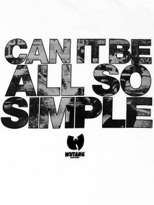 "WU-TANG LTD ""The So Simple"" T-Shirt"