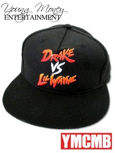 Drake vs Lil Wayne Young Money Snapback Cap