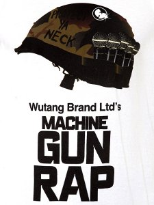 "WU-TANG LTD ""The Machine Gun Rap"" Tee"