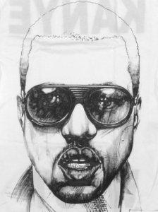 """Kanye West """"SKETCH"""" T-Shirt"""