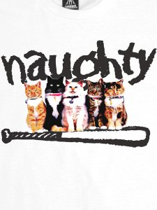 Naughty Cats T-Shirt by Upper Playground
