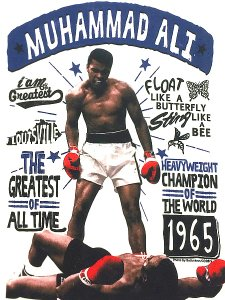 "Muhammad Ali ""BUTTERFLY BEE"" T-Shirt"