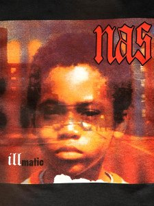"NAS ""ILLMATIC Cover"" Official T-Shirt"