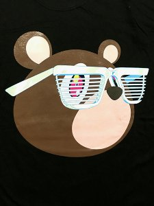 "Kanye West X MURAKAMI TAKASHI ""Glow In The Dark Tour"" T-Shirt"
