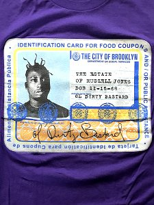"Ol' Dirty Bastard ""Food Stamp"" T-Shirt"