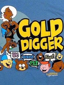 Kanye West Gold Digger Tee