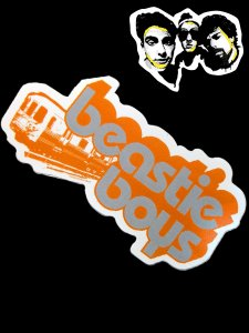 Beastie Boys Official Sticker