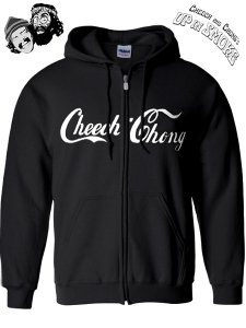 "Cheech & Chong ""Coke Logo"" Zip Up Hoody"