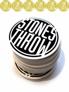 Stones Throw - Official Sticker