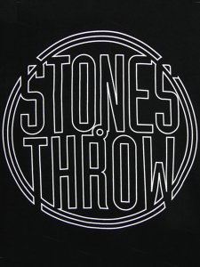 Stones Throw Outline Logo T-Shirt