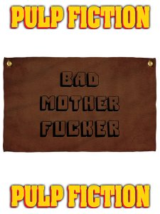 "Pulp Fiction ""BAD MOTHERFUCKER"" Towel"