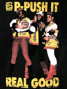 "SALT-N-PEPA ""Push It Real Good"" Official T-SHIRT"