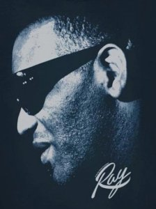 "Ray Charles ""Blue Ray"" T-shirt"