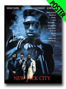 New Jack City Movie Mini Poster