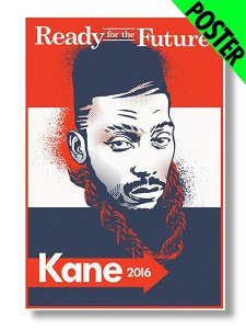 "Big Daddy Kane ""Ready For The Future"" Poster"