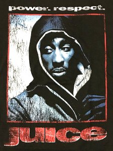 "2Pac ""JUICE"" Official T-Shirt"