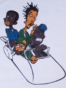 "Pharcyde ""Bizarre Ride 2"" T-Shirts"