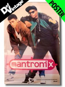 DEADSTOCK 1988 Mantronix Promotional Poster