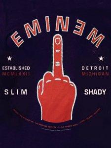 """Eminem """"Detroit F**K Finger"""" T-Shirt"""