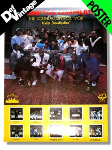 SOUND CONTROL MOB Compton Compilation 1989 Promotional Poster