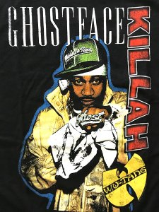 "Ghostface Killah ""Standing Photo"" Vintage Style T-Shirt"