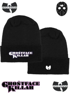 "Ghostface Killah ""Black Cuff"" Beanie"