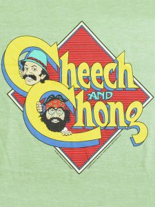 "Cheech and Chong ""Caricature Logo"" T-Shirt"