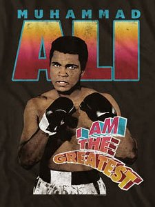 "Muhammad Ali ""I Am The Greatest"" T-Shirt"