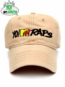 Yo! Mtv Raps Official Logo Dad Cap