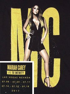 "MARIAH CAREY ""Midnight #1 To Infinity"" T-shirt"