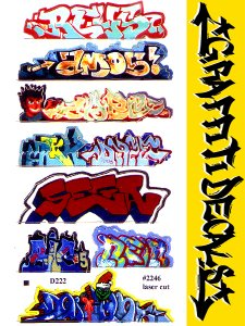 GRAFFITI DECALS #2246 ステッカー