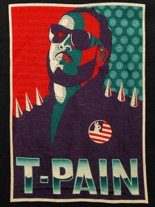 "T-Pain ""Campaign"" Official T-Shirt"