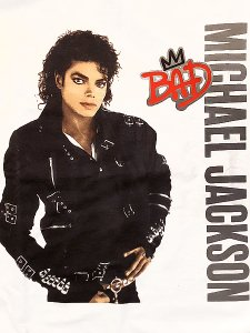"Michael Jackson ""MJ BAD"" 60th Official T-Shirt"