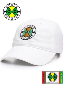 "Cross Colours ""Classic Logo""  Embroidered Dad Cap"