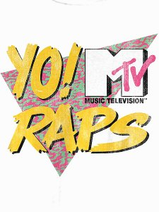Yo! Mtv Raps Official Logo T-Shirt