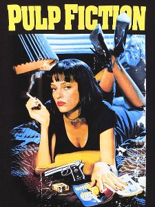 "Pulp Fiction ""Classic Poster Art"" Official T-Shirt"